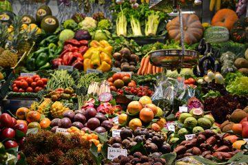 Sundeste frugter og grøntsager