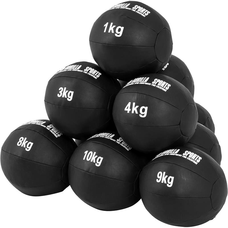 Wall balls er gode til funktionel træning